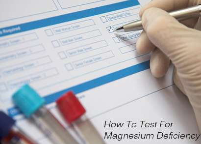 How To Test For Magnesium Deficiency